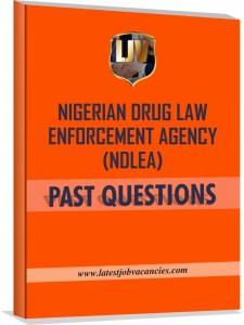 NDLEA Recruitment Past Questions